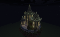 Floating temple