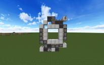 3x3 piston door
