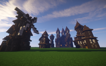 Minecraft Medieval/Nordic style house pack