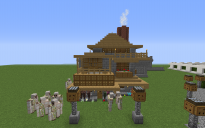 Маленький уютный деревянный дом