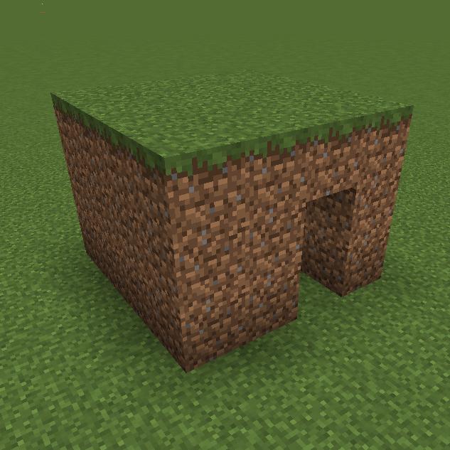 dirt mansion minecraft