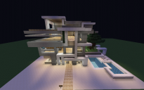 Big Modern House with Elevator