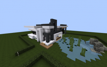 Case Moderne Minecraft : Minecraft houses and shops creations