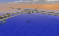 Drive on the Left Dual Simplex Minecart Track Intersection
