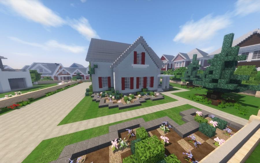 Traditional Suburban House Creation 12570