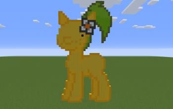 Pikmin Pony Pixel Art