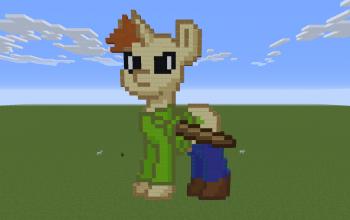 Baldi Pony Pixel Art