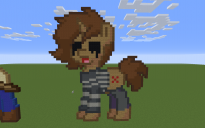 Principal of the Thing Pony Pixel Art