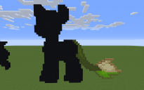 Gotta Sweep Pony Pixel Art