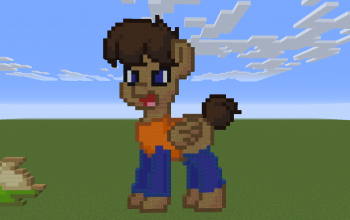 It's a Bully Pony Pixel Art