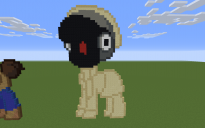 Arts and Crafters Pony Pixel Art
