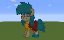 Camp Camp Nikki Pony Pixel Art