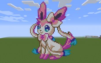 Sylveon Pixel Art