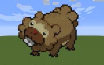 Bidoof Pixel Art