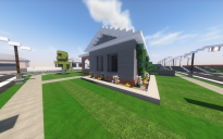 Small Traditional Suburban House