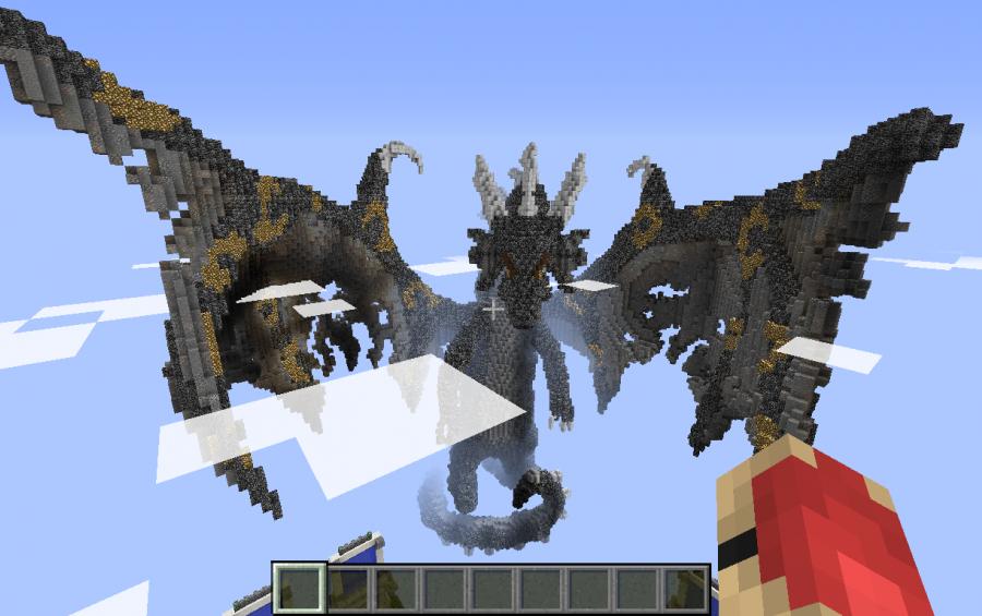 Скачать black dragon майнкрафт сервер