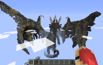 Huge Black Dragon