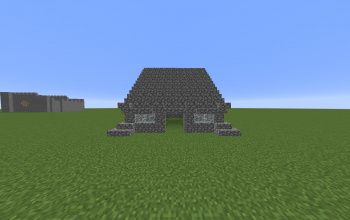 Simple Cobblestone House