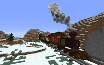 Christmas Locomotive For Addexio