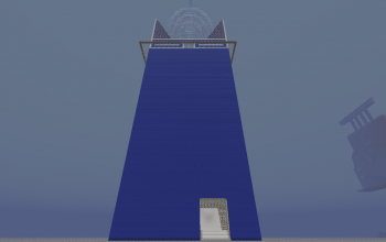 BlueGlowTower