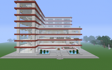 huge modern hospital creation 1296