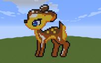 Deer Pixel Art