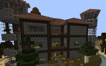 Beautiful Mansion with rooms and small Bridge