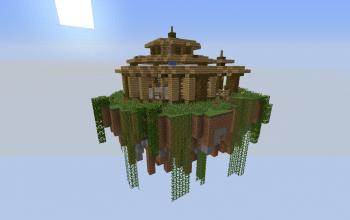 Floating Island Jungle House