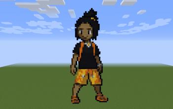 Hau Pixel Art