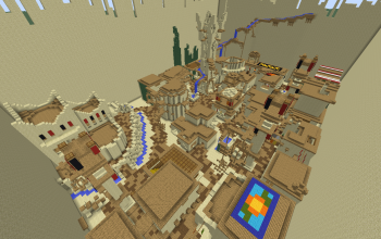 Minecraft Arenas creations