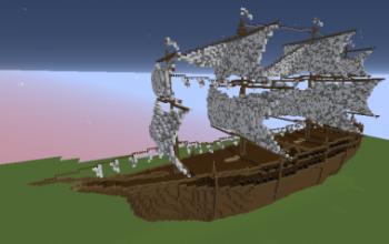 minecraft boats creationsman o\u0027 war