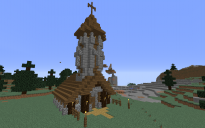 Spruce Village Pack - Church