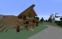 Spruce Village Pack - Barn