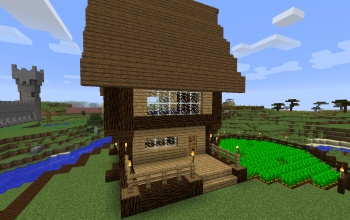 Minecraft Houses and shops creations - 2 on