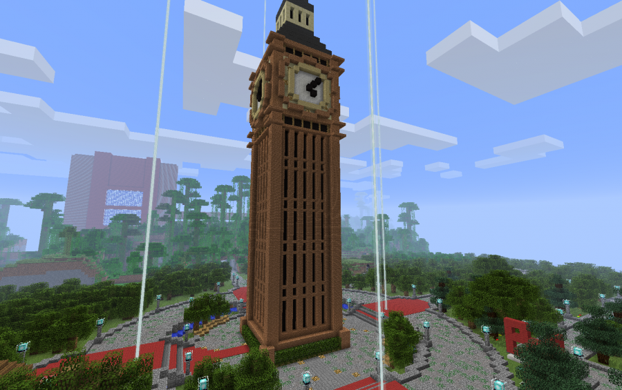 . Big Ben tower  creation  1325
