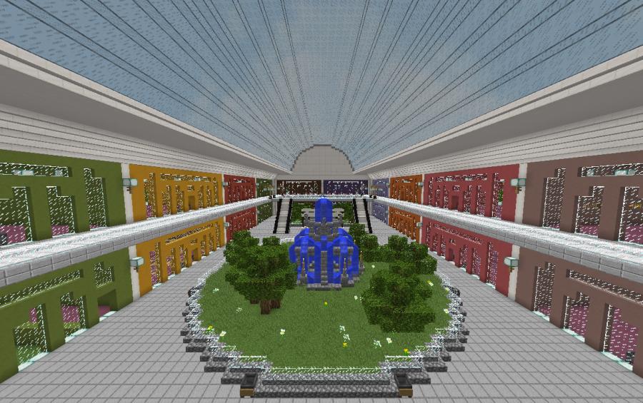 Minecraft clothing store