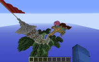 Skyblock spawn and pvp