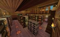 Organized Storage & Crafting Area