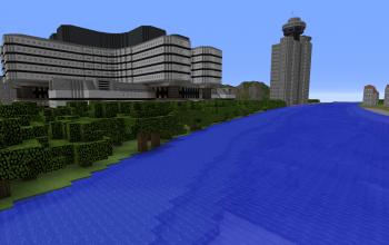 Case Moderne Minecraft : Minecraft modern creations