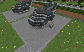 Armored Flying Attack & Transport Vehicle