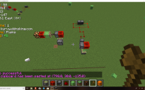 redstone lamp clock