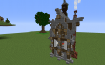 Medival house tower
