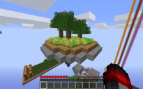 Small Island with crops