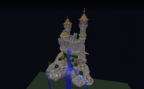 floating castle skyblock