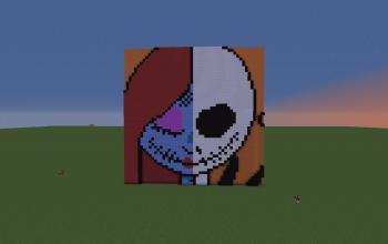 Minecraft Pixel art creations