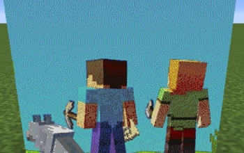 Minecraft Home-Page Entire Map Art