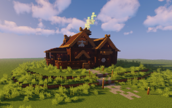 1.8+ Compatible Dark Oak Mansion
