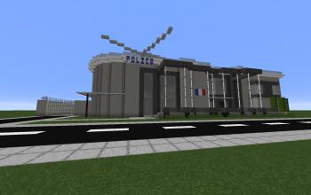 Modern Police Station (Unfurnished)