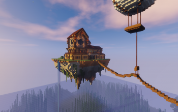 Mansion on Floating Island