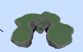 Minecraft Floating Islands creations